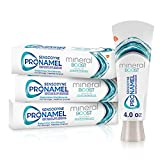 Sensodyne Pronamel Mineral Boost Enamel Toothpaste for Sensitive Teeth, to Replenish Minerals and Strengthen Enamel, Peppermint - 4 Ounces (Pack of 3)