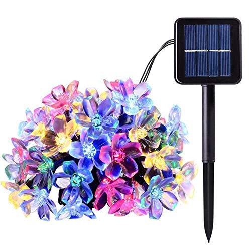 Guirnalda Luces Exterior Solar 7 Metros 50 LED de energía s