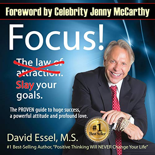 Focus!: Drop the Law of Attraction. Slay Your Goals.  audiobook cover art