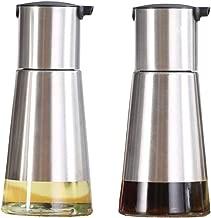 Nrpfell Dispensador Pulverizador de Vinagre de Aceite de Acero Inoxidable Niebla de Botella de Pulverizaci/ón para Cocinar Pasta Parrilla BBQ Ensaladas
