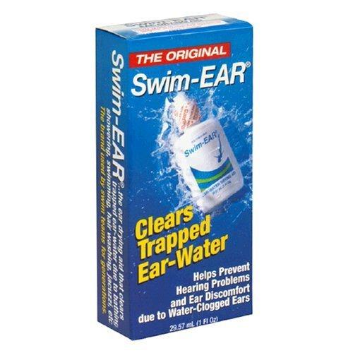 Swim-Ear Ear-Water Drying Aid, 1 fl oz (Pack of 3)