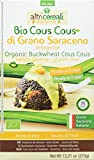 Altricereali Cous Cous Trigo Sarraceno sin Gluten - 4 Paquetes de 1 x 375 gr - Total: 1500 gr