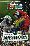 Manitoba - Mangime variato per tutti i tipi di pappagalli, 2 Kg