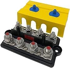 Bay Marine BusBar - Dual 4-Post Power Distribution Block - 5/16