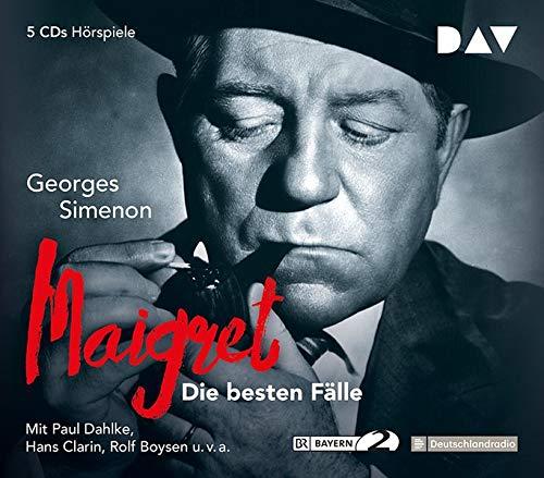 Maigret – Die besten Fälle: Hörspiele mit Paul Dahlke, Hans Clarin u.v.a. (5 CDs) (Georges Simenon - die Hörspiele)