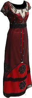 Women Halloween Rose Jump Dress Cosplay Costume Victorian