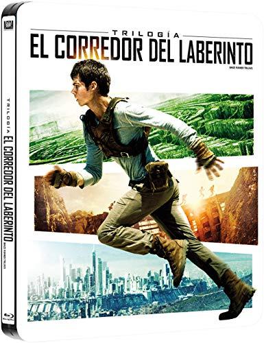 Pack Trilogia El Corredor Del Laberinto Black Metal Edition Blu-Ray [Blu-ray]