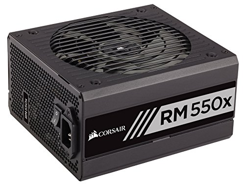 Corsair RMX Series (2018), RM550x, 550 Watt, 80+ Gold Certified, Fully Modular Power Supply