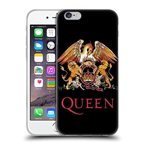 Head Case Designs Licenza Ufficiale Queen Stemma Arte Chiave Cover in Morbido Gel Compatibile con Apple iPhone 6 / iPhone 6s