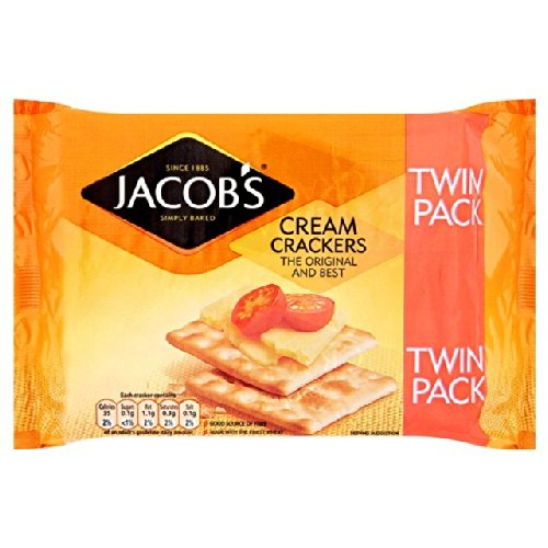 Philadelphia Mall Jacobs Cream 2021 spring and summer new Crackers 2X200g Twin Pack