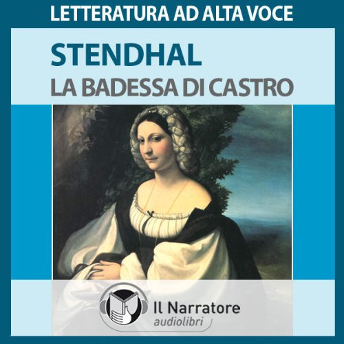 La Badessa di Castro audiobook cover art