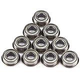 10 Piezas 6 * 13 * 5 mm F686ZZ Mini Rodamientos de Bolas Radiales en Miniatura de Acero Do...