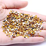 Hoonmis Square 5g 1500pcs acrílico Flatback Rhinstones Nail Art DIY Crafts Jewelry Making Laptop Wedding Dresses Decorations