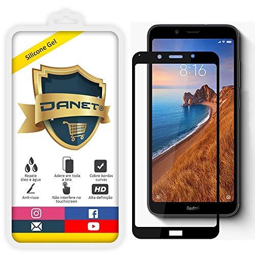 Película De Gel Silicone Flexível 5d Para Novo Xiaomi Redmi 7a Tela De 5.45 Polegadas - Proteção Que Adere E Cobre Toda A Tela - Danet