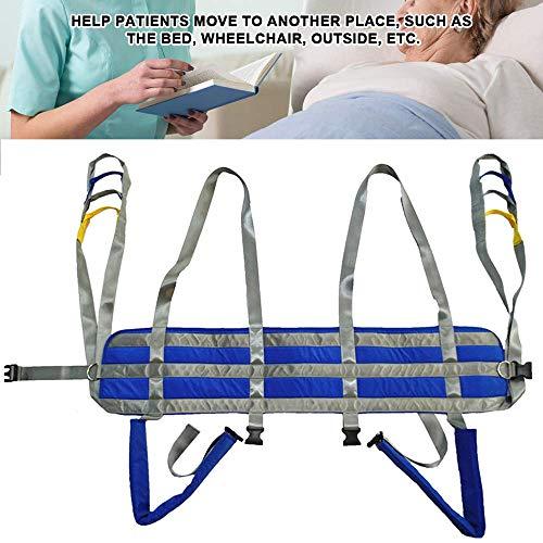 51Ar9gMJ7ML - ZIHAOH Cabestrillo De Elevación De Paciente De Cuerpo Completo, Cinturón para Caminar Asistido por El Paciente, Las Piernas Se Pueden Separar, Seguridad De Enfermería