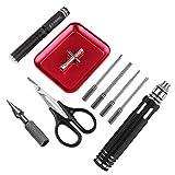 Destornillador herramienta RC Kit para RC Model, Escariador Perforador, Tijera de Corte Curvada,...