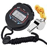 Zaleonline Chronomètre De Sport, Chronomètre Numérique Portable, avec Un Sifflet en Acier...