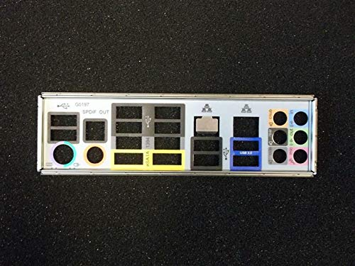 Gigabyte GA-P55A-UD4 Rev.1.0 Blende - Slotblech - IO Shield