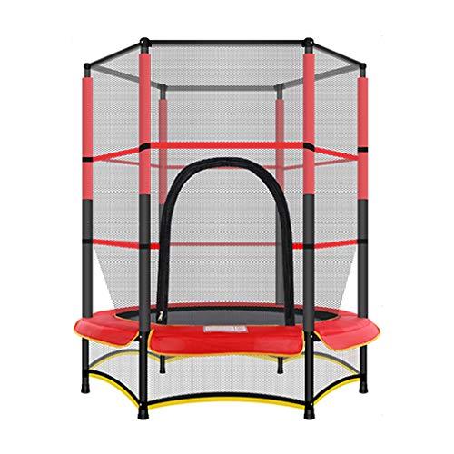 TRAMPOLINE Mini Fitness, In hoogte verstelbaar, Maximale belasting 100 Kg, Ø140cm, Fitness Backboard Geschikt voor Lichamelijke Oefening En Aerobic Oefening, Stille Rubber Kabel Suspensie