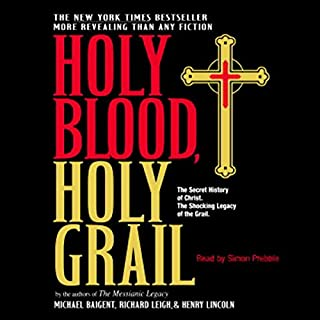 Holy Blood, Holy Grail audiobook cover art