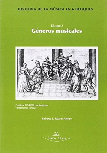 Historia De La Musica En 6 Bloques - Bloque 2 - Generos Musicales (+dvd)