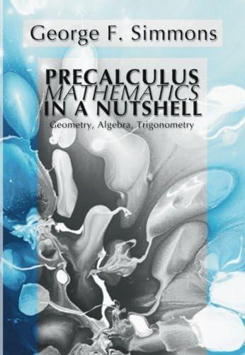 Precalculus Mathematics in a Nutshell Geometry Algebra Trigonometry product image