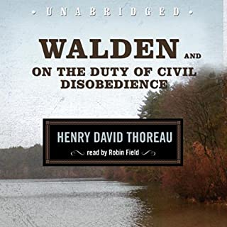 Walden and On the Duty of Civil Disobedience audiobook cover art