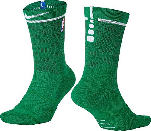 Nike Elite Quick NBA Herren Basketballsocken, Boston Celtics Edition, Größe 36-45 (Large)