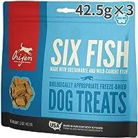 オリジン トリーツ 6フィッシュ 犬用 42.5g×3入 並行輸入品