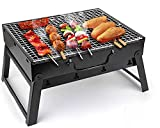 Gemdeck Portable Mini BBQ Charcoal Grill,Folding Grill for Camping Outdoor Barbecue Grilling Cooking Camping Picnics