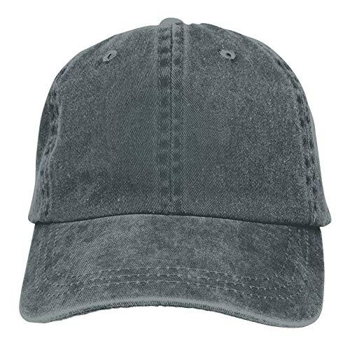 Dittelle Baseball Cap Leisure Unisex Adjustable Washed Denim Dad Trucker Hat Casual Style Cap