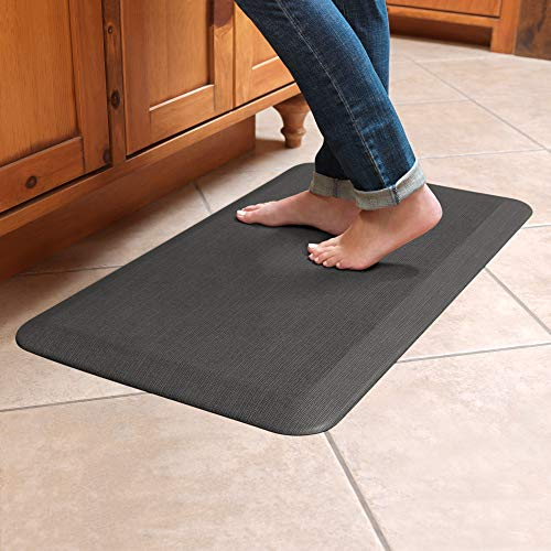 GelPro Designer Comfort 3/4' Thick Ergo-Foam Anti-Fatigue Kitchen...