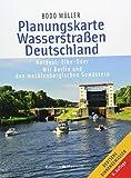 Planungskarte Wasserstraßen Deutschland Nordost: Elbe-Oder. Mit Berlin und den mecklenburgischen...