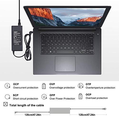 SUNYDEAL® Notebook Netzteil Laptop Ladekabel AC Adapter 19v 3.42A 5.5mm x 2.5mm 65W für Acer, Dell Inspiron, Dell Latitude, Toshiba Satellite