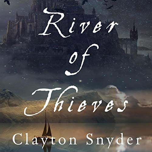 River of Thieves audiobook cover art