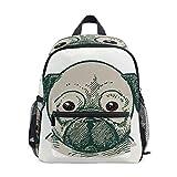 Mochila para niños pequeños con diseño de cachorro de cachorro de cachorro de cachorro bolsa para la escuela, niños y niñas, mochila de viaje para niños de 3 a 8 años de edad preescolar