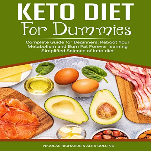 Keto Diet for Dummies cover art