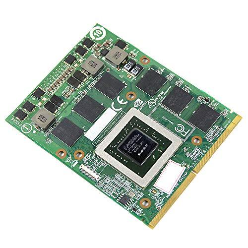 Original Graphics Video Card GPU Replacement for Alienware M15X R1 R2 M17X R1 R2 R3 MSI MS-16F1 MS-16F2 Gaming Laptop, nVidia Geforce GTX 460M GDDR5 1.5GB N11E-GS-A1, MXM 3.0B VGA Board Repair Parts
