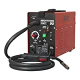 Sealey MIGHTYMIG90 90Amp No-<span class='highlight'>Gas</span> MIG Welder, Red