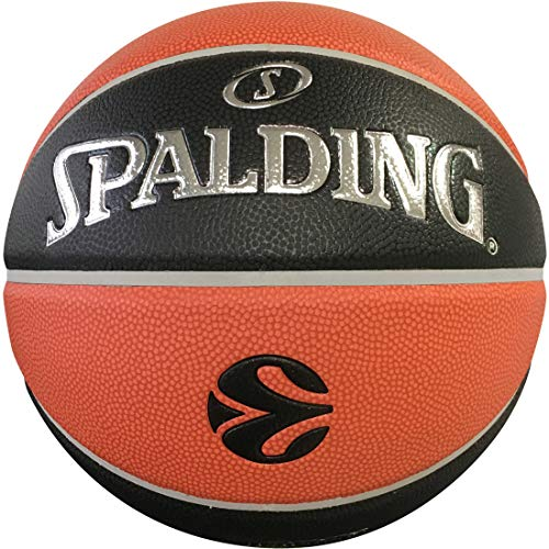 Spalding F4 2019 TF 1000 Legacy (76-523z), Unisex Adulto, Orange/Black, 7