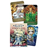 Tarjeta Tarot Cartas 45pcs Alice The Wonderland Oracle Guidance Divination Fate Tarot Cards Deck Board Game Party Playing Card