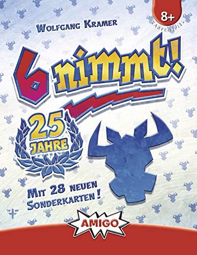 Amigo 6Nimmt 25 Jahre Jubiläumsedition Kartenspiel