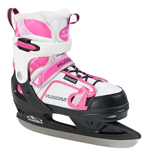 HUDORA Schlittschuhe Kinder rGo - Gr. 37-40, pink - Eislaufschuhe - 45270