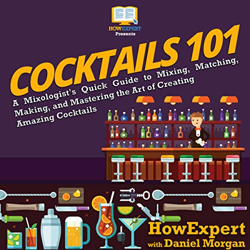 Cocktails 101 audiobook cover art