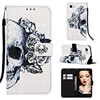 Abtory Folio Flip Premium PU Leather Case Cover w/Card Holder Slot Pockets Magnetic Closure for 2019 New Kindle 658 Flower