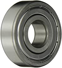 SKF 6201-2Z/LHT23 Radial Bearing, Single Row, Deep Groove Design, ABEC 1 Precision, Double Shielded, Non-Contact, Normal Clearance, Steel Cage, Metric, 12mm Bore, 32mm OD, 10mm Width