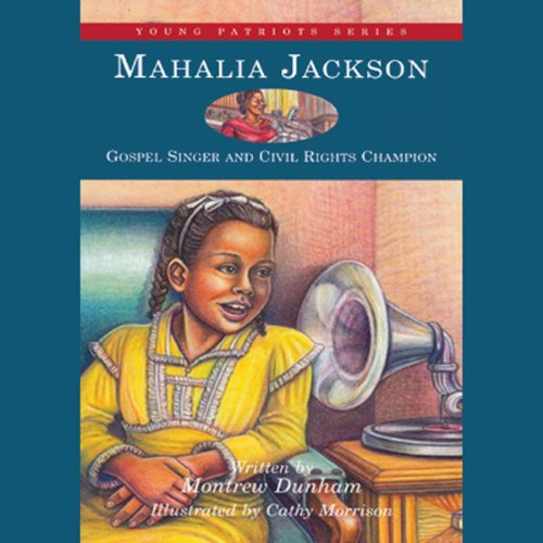 Mahalia Jackson audiobook cover art