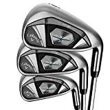 Callaway Golf 2020 Rogue X Irons and Combo Sets (Left Hand, Steel, Regular, Iron Set: 5-PW, AW)