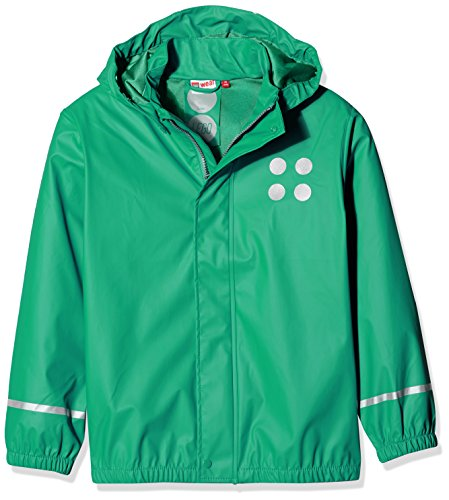 Lego Wear Jungen Jonathan 101-RAIN Jacket Regenjacke, Grün (Light Green 835), 140