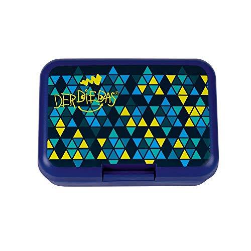 DerDieDas Zubehör Brotbox 18 cm Blau